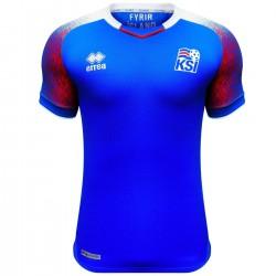 Island Home fußball trikot Weltmeisterschaft 2018/19 - Errea