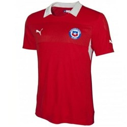 Chile National Soccer Jersey Home 2012/14-Puma