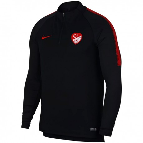 Turkey football team black tech training sweatshirt 2018/19 - Nike
