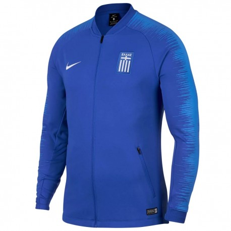 Greece football pre-match presentation jacket 2018/19 - Nike