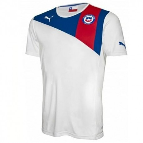 Chile National Soccer Jersey Away 2012/14-Puma