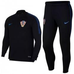 Kroatien Fussball team Tech Trainingsanzug 2018/19 schwarz - Nike