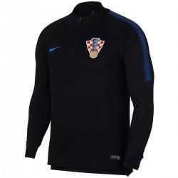 Felpa tecnica allenamento nera Nazionale Croazia 2018/19 - Nike