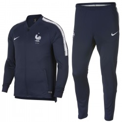 France football navy training presentation tracksuit 2018/19 - Nike