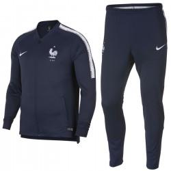 Survetement d'entrainement/presentation France 2018/19 bleu - Nike