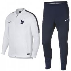 Frankreich Fussball präsentation Trainingsanzug 2018/19 - Nike