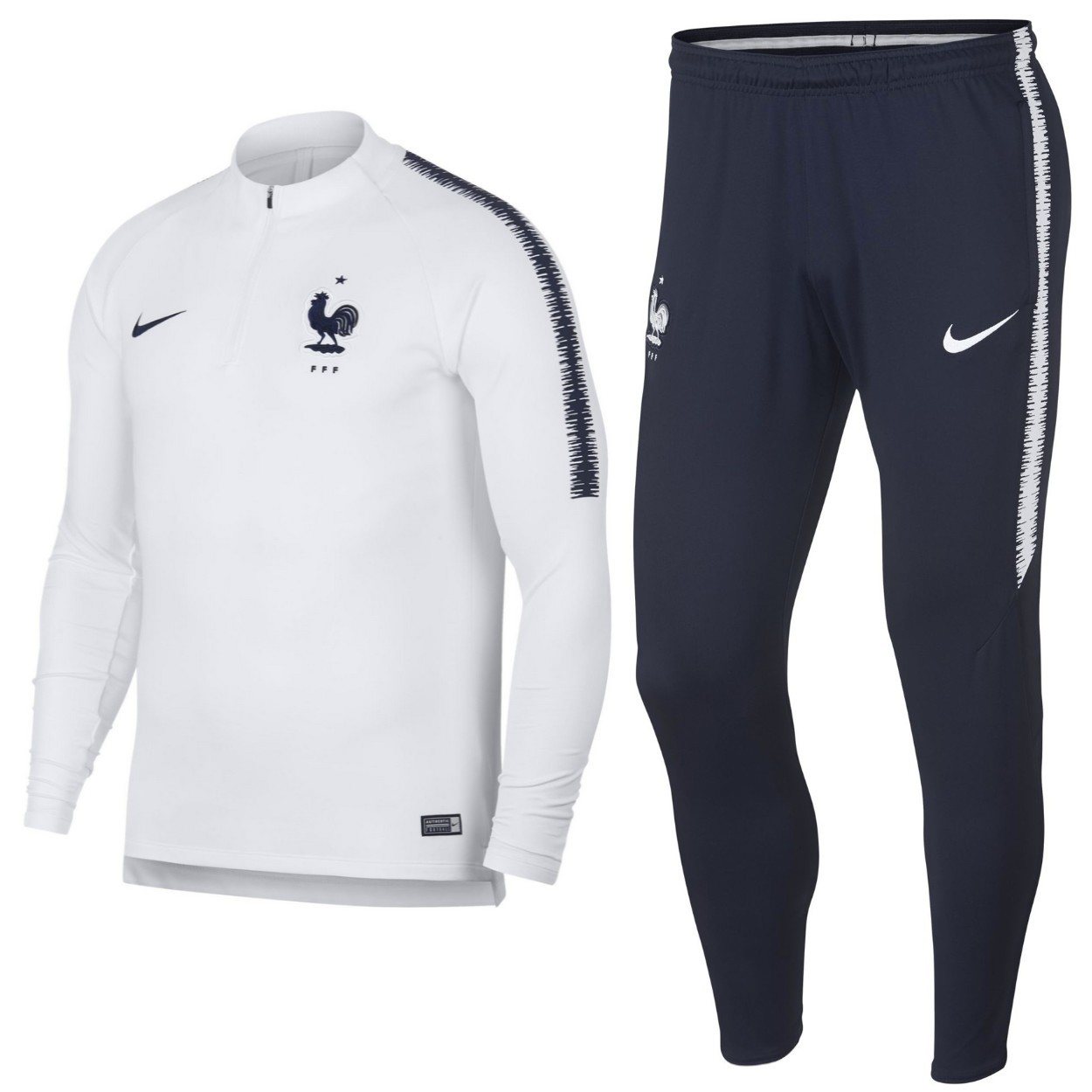 France football training technical tracksuit 201819 Nike