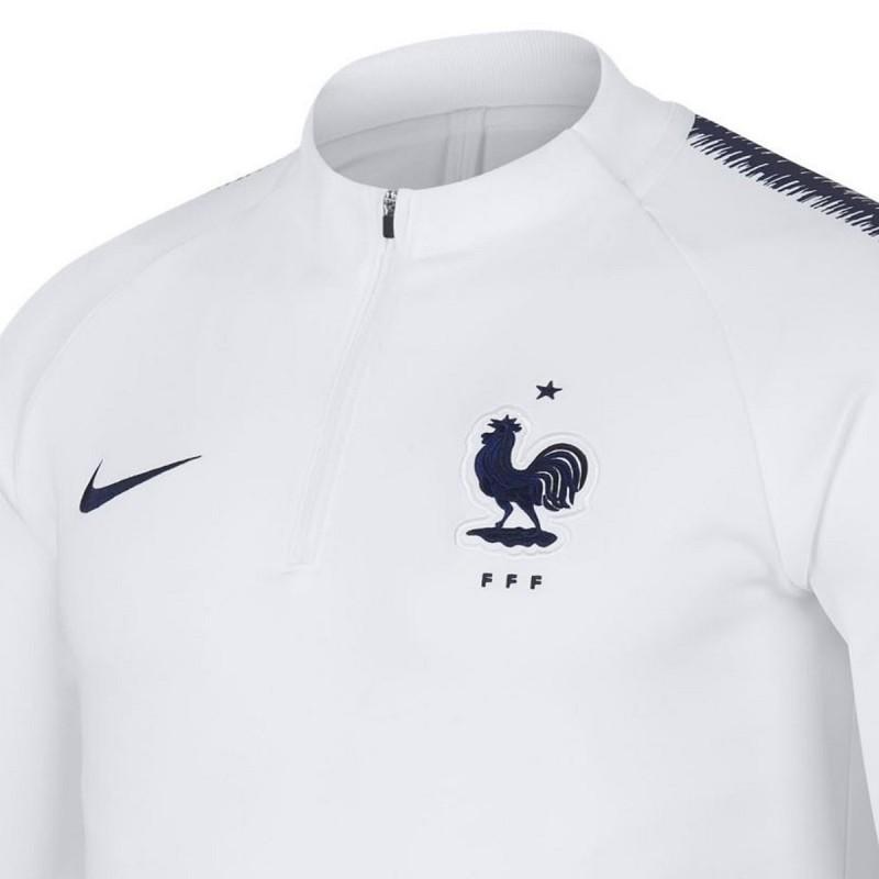 Felpa tecnica allenamento Nazionale Francia 201819 Nike
