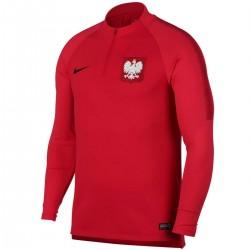 Sudadera tecnica entreno seleccion Polonia 2018/19 - Nike