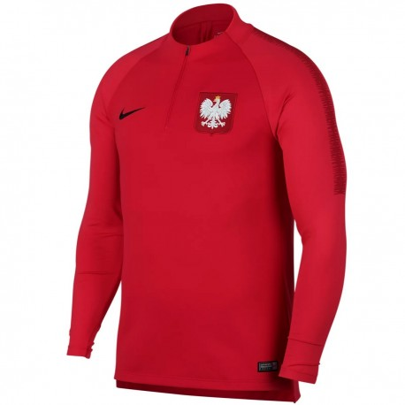 Poland football training technical sweatshirt 2018/19 - Nike