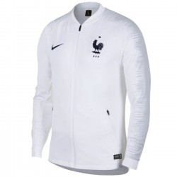 France football white pre-match presentation jacket 2018/19 - Nike