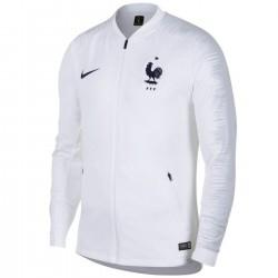 Frankreich Fussball pre-match präsentationsjacke 2018/19 weiss - Nike