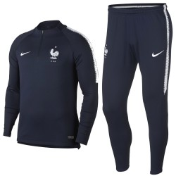 Survetement Tech d'entrainement France 2018/19 bleu - Nike
