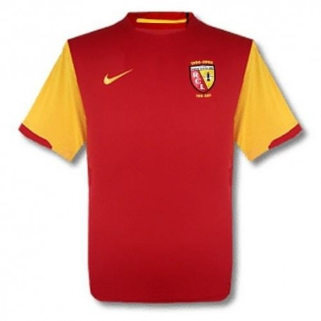 RC Lens Home maillot 200607 centenaire Nike SportingPlus Passion for Sport
