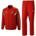 Spain red presentation Tracksuit 2014 - Adidas