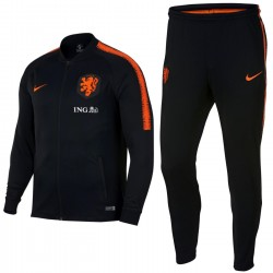 Niederlande Fussball präsentation Trainingsanzug 2018/19 schwarz - Nike