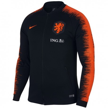 Presentacion Pre Nike Chaqueta 201819 Match Seleccion Holanda BHnOqd7 a478b72933228