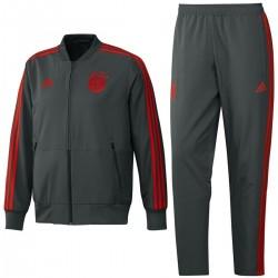 Survetement de presentation Bayern Munich 2018/19 gris - Adidas