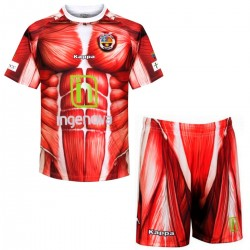 "CD Palencia ""Anatomy"" Home Fußball set 2016/17 - Kappa"