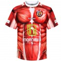 "CD Palencia ""Anatomy"" Home football kit 2016/17 - Kappa"