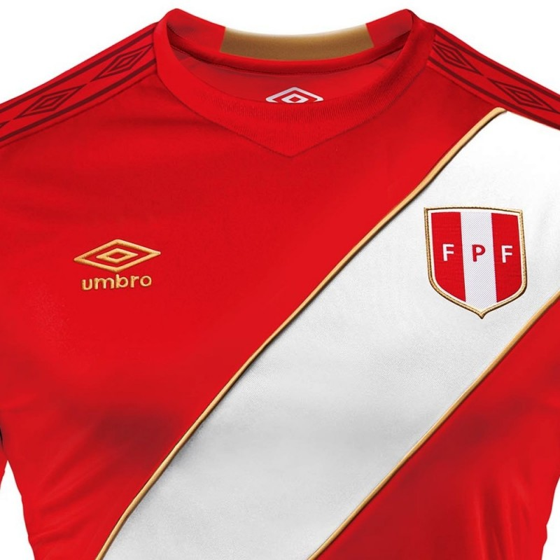 66c5686cf Peru football team Away shirt World Cup 2018 - Umbro - SportingPlus.net