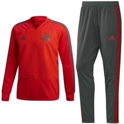 Survetement sweat d'entrainement Bayern Munich 2018/19 - Adidas
