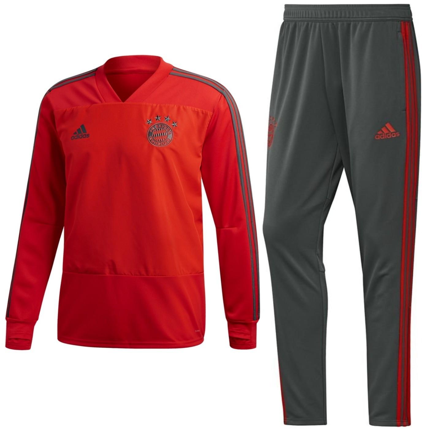 Tuta da allenamento sweat Bayern Monaco 2018/19 - Adidas