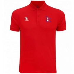 Nepal football team presentation polo shirt 2018 - Kelme