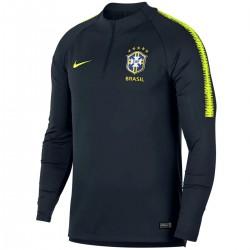 Tech sweat top d'entrainement Brésil 2018/19 - Nike