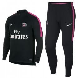 PSG Paris Saint-Germain Tech Trainingsanzug 2018/19 schwarz - Nike