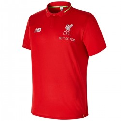 Maillot polo de presentation rouge FC Liverpool 2018/19 - New Balance