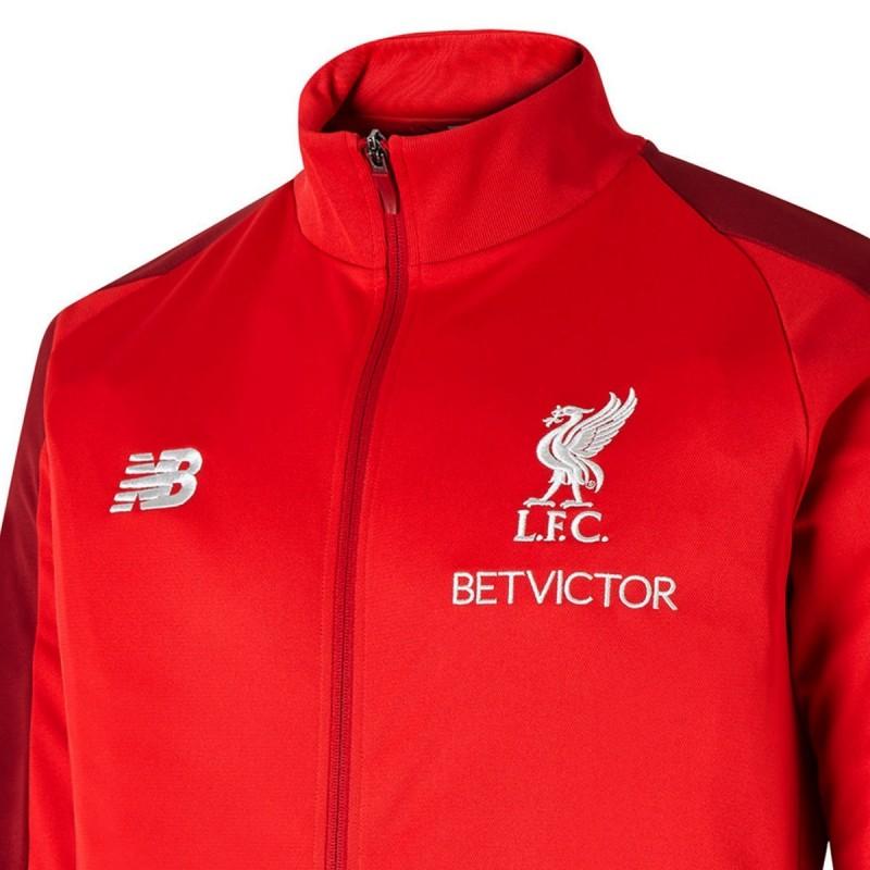 6c325f56350 Liverpool FC red presentation jacket 2018 19 - New Balance ...
