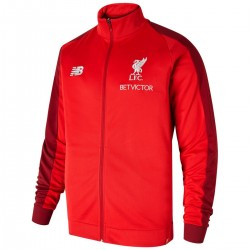 Giacca da rappresentanza rossa FC Liverpool 2018/19 - New Balance