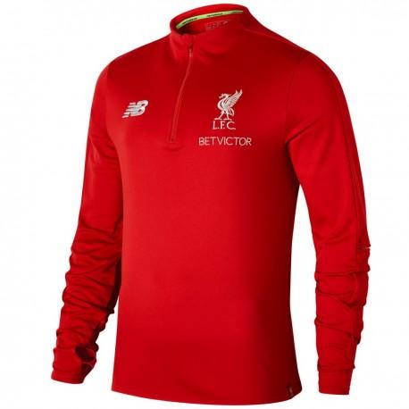 Liverpool FC training tech hybrid sweatshirt 2018/19 - New Balance