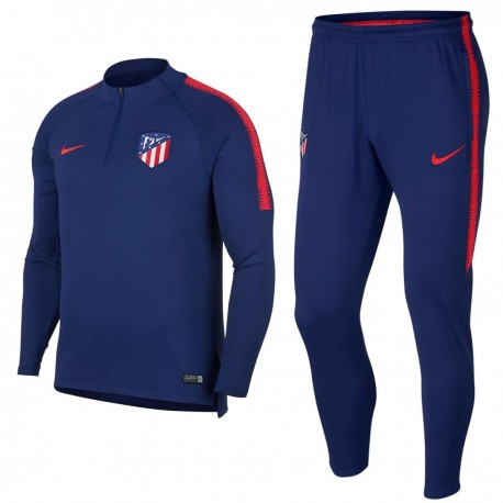 Atletico Madrid blue technical training tracksuit 2018/19 - Nike