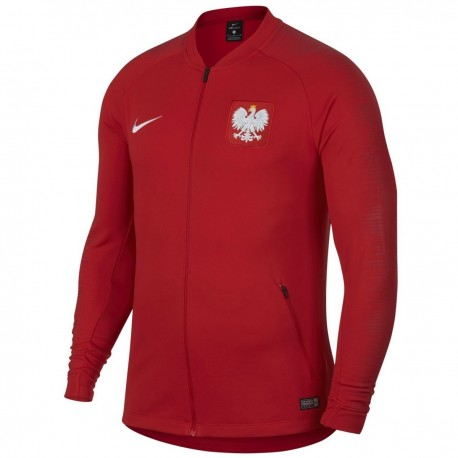 Poland football pre-match presentation jacket 2018/19 - Nike