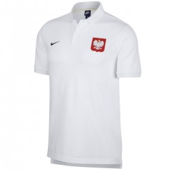 Polen Fussball präsentations polo-shirt 2018/19 - Nike