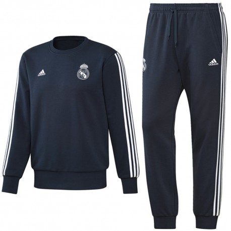 Real Madrid training sweat tracksuit 2018/19 - Adidas