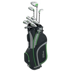 Set completo golf pacchetto Wilson Tour Velocity con borsa