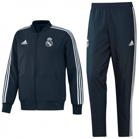 Chándal adidas Real Madrid presentación 2018 2019 | Real