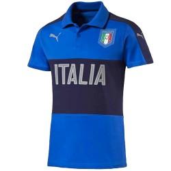 Italien-Nationalmannschaft Präsentation polo-shirt  2016/17 blau - Puma