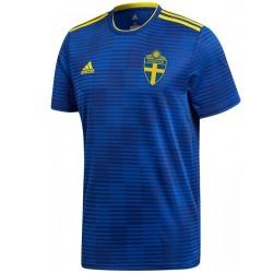 Maglia calcio nazionale Svezia Away 2018/19 - Adidas
