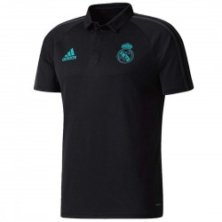 Polo da rappresentanza nera Real Madrid 2017/18 - Adidas