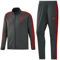 Bayern Munich grey training players tracksuit 2018/19 - Adidas