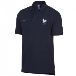 Polo da rappresentanza blu Nazionale Francia 2018/19 - Nike