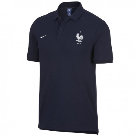 France football navy presentation polo shirt 2018/19 - Nike