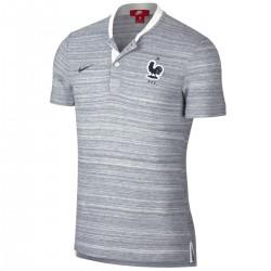 Polo rappresentanza grigia Nazionale Francia Grand Slam 2018/19 - Nike