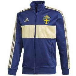Giacca da rappresentanza Track Casual nazionale Svezia 2018/19 - Adidas