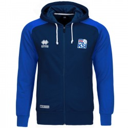 Iceland World Cup presentation hooded jacket 2018/19 - Errea