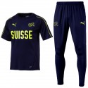 Conjunto de entreno selección de Suiza 2018/19 azul - Puma